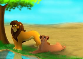 Kopa and vitani by coolrat
