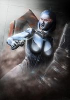 Mass Effect 3 - EDI by michaellam