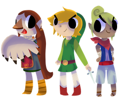 wind waker by pastelbloods