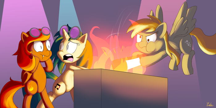 You burned my boombox by zelc-face