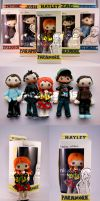Paramore 'Action Figures' by NickyToons