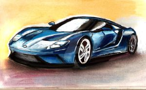 Ford GT by SarahStang06