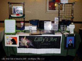 Lilly's Artist Table by lilly-peacecraft