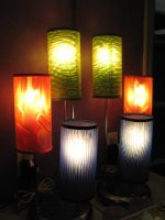 Groovy Glowing Lights by lured2stock
