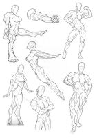 Anatomy Practice Full Body by Bambs79