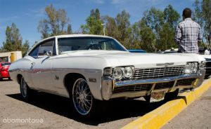 Chevy Impala 1968 by abomontage