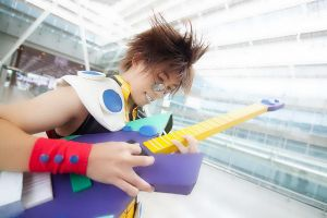 Screaming Guitar - N Basara by Amano7