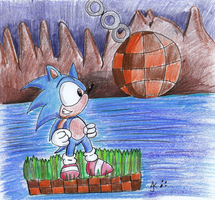 Green Hill Zone by RaeLogan
