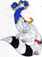 Sly Cooper Taur Comm. - Col. by dragonheart07