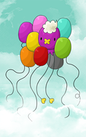 Drifloon and the Balloons by Toasterbots