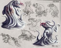 Moon-Beast Concept by Ito-Saith-Webb