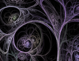 Soft Tree by Midnight-Fractals