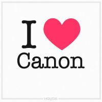 I Love Canon by HAZARDOS