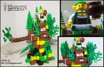 Lego Tree Of Fairys by toongrowner