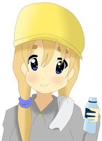 Hard Work Day with Mugi-chan by tellmymotherimsorry
