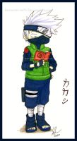 naruto- Kakashi Hatake by Innocent-raiN
