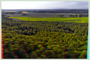 View from Fortress Regenstein 3D ::: DRi Anaglyph by zour