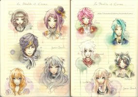 AdM: The Whole Moralite Family by chocoanillaberry