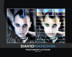 Photoshop Actions 1-10 by davidnanchin