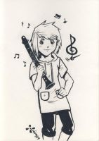 My musical weapon by Takiusa