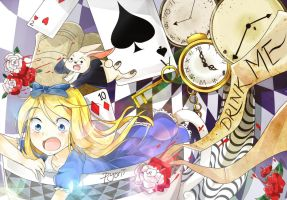 Alice In Wonderland by pyoriin