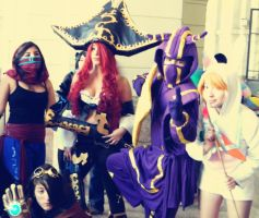 League of legends Cosplay Team Chile by RosseSinner
