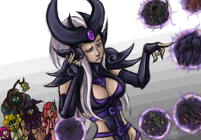 Syndra is bored by No-sabe