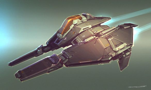 QR Racer concept 09 by Talros