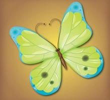 Make an Attractive Vector Butterfly by Designslots