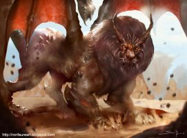 Manticore's by Ron-faure