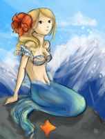 mermaid. by Moon-Light-Rain