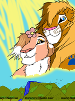 Contest Prize:Tiamii n Charlie by Night-Lion