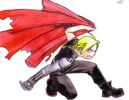 Ed Elric by Ziven