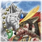 Samurai guarded her. by SheltieWolf