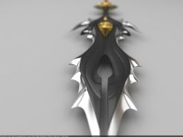 Soul Separator dagger: Front view by Samouel