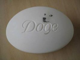 have some doge soap by Ask-Fangthevampire