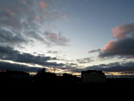 Cloudy Sunset by Michies-Photographyy