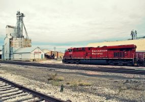 Candian Pacific 8885 by SMT-Images