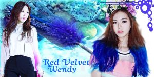 Red Velvet Wendy Chrome Theme by Yilong-susica