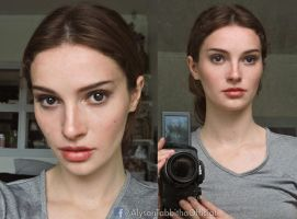 Padme Amidala Cosplay Makeup Test by AlysonTabbitha