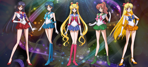 Sailor Moon Crystal by sailormoonguide
