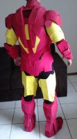 Iron Man Mark VI cosplay back - WIP by Regis-AND