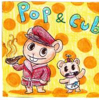 htf-Pop and Cub by tonoly21