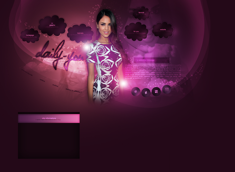 Layout ft. Eiza Gonzalez by PixxLussy