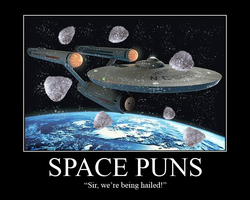Space Puns Motivational by SlienceMaster