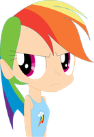 Rainbow Dash Has Enough. (From MLP S4 E21) by Michaelsety