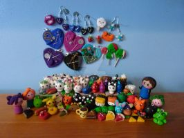 My charm collection by Iluvrocks