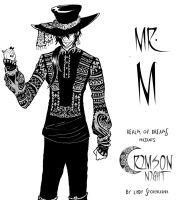 Mr. M character Design by lady-storykeeper