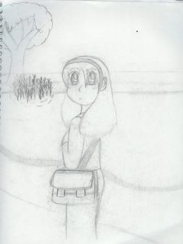 Going Home Sketch by MilaPrower