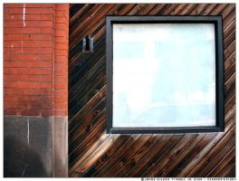 Brick Wood and Glass by j1mmie